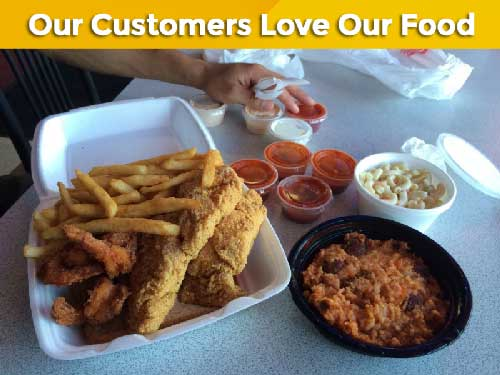 customers love our food