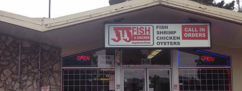 Vallejo, CA Restaurant - JJ Fish & Chicken | Northern California